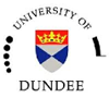 Logo of the University of Dundee.